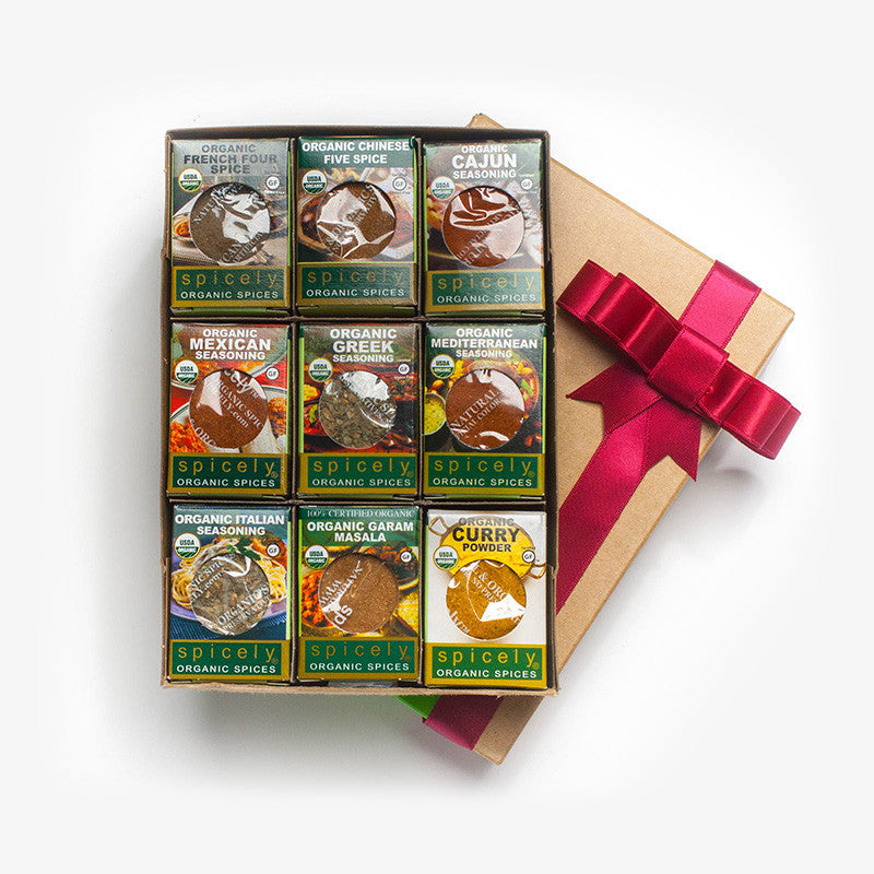 Gift Box: International Spices (9-Pack)