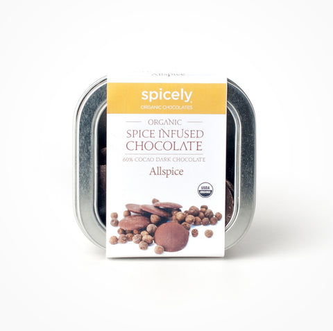 Organic Allspice 60% Dark Chocolate