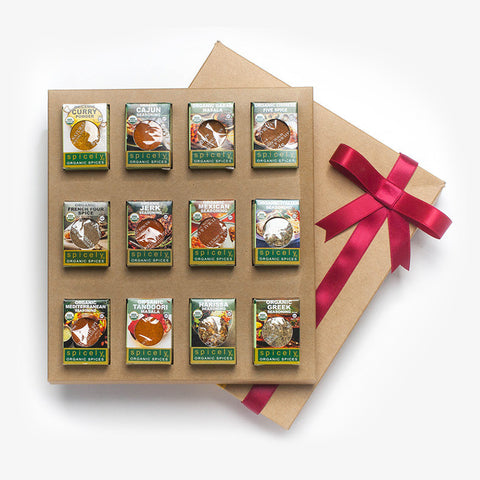 Gift Box: International Spices