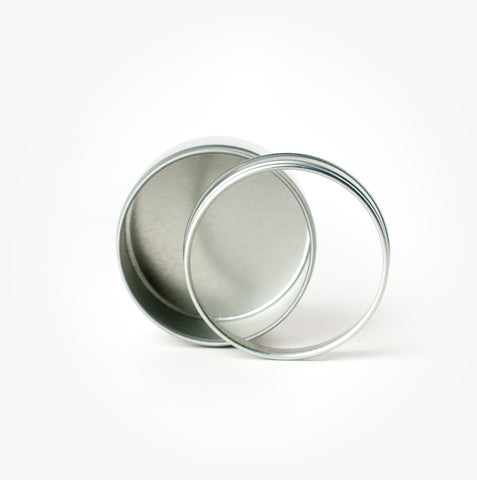 Small Round Tin, Empty
