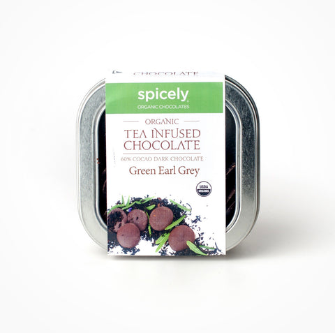 Organic Green Earl Grey 60% Dark Chocolate