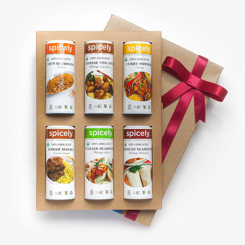 Gift Box: World Spices