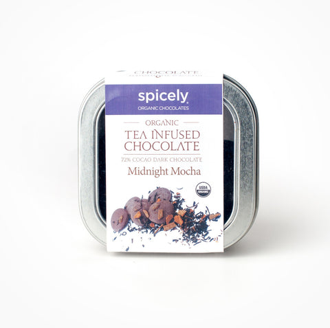Organic Midnight Mocha 72% Dark Chocolate