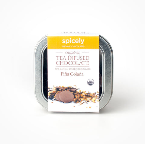 Organic Pina Colada 60% Dark Chocolate
