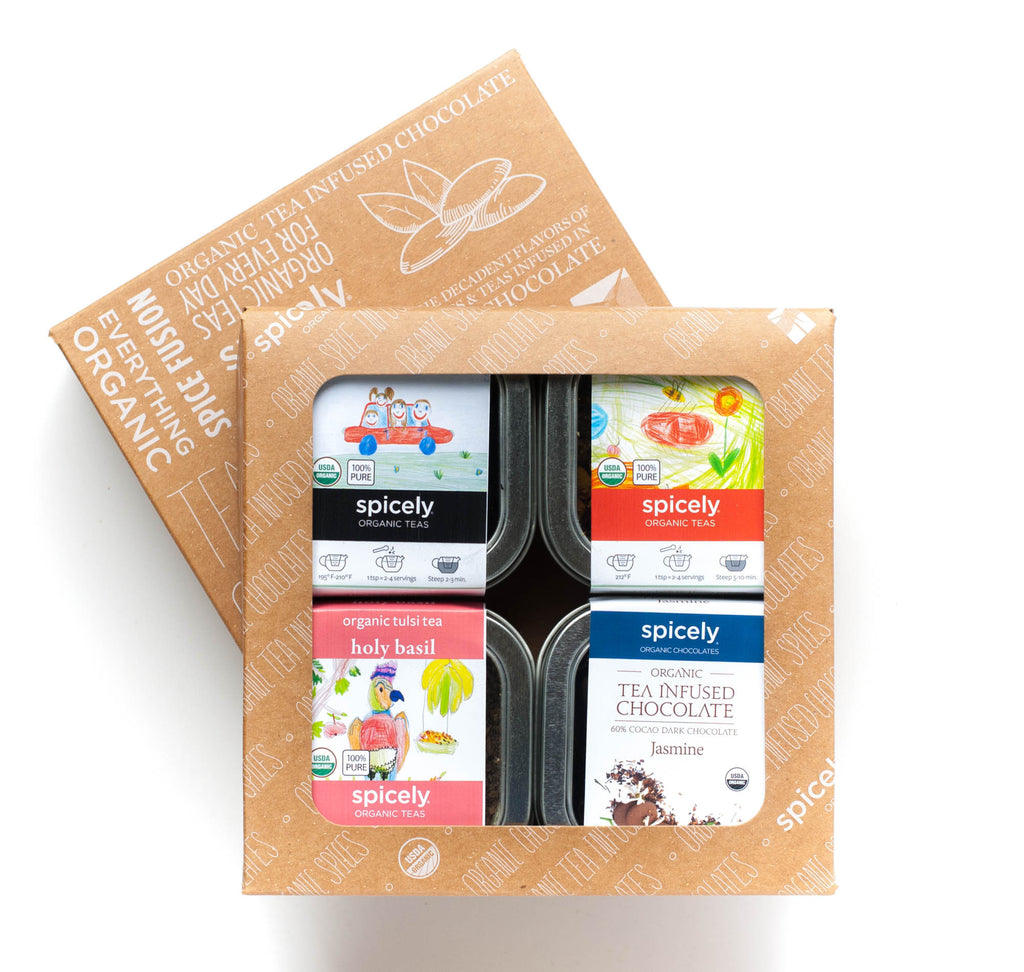 Gift Box: Traditional Tea & Chocolate