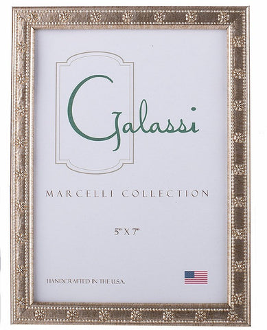 Frame Galassi Silver Daisy Wood