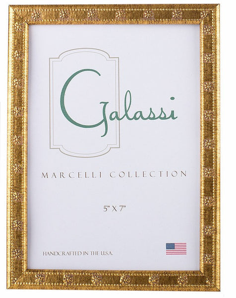 Frame Galassi Gold Daisy Wood