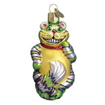 Old World Christmas Cheshire Cat