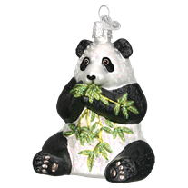 Old World Christmas Panda