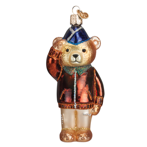 Old World Christmas Air Force Bear