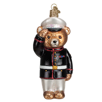 Old World Christmas Marine Bear