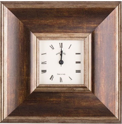 Clock Galassi Marcelli Brown/Bronze 4 x 4