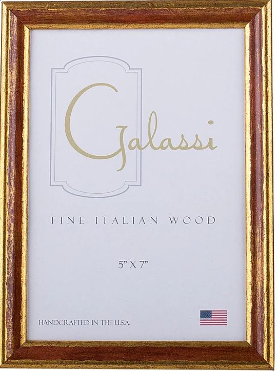 Frame Galassi Red/Gold