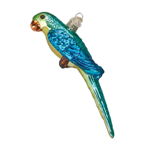 Old World Christmas Parakeet