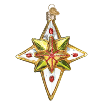 Old World Christmas Luminous Star. (discontinued)
