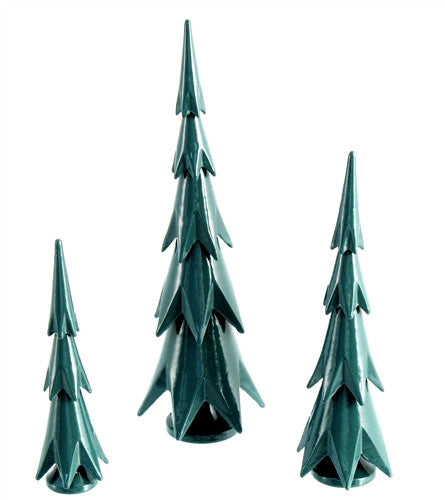 Ore mountain Pines Set of 3