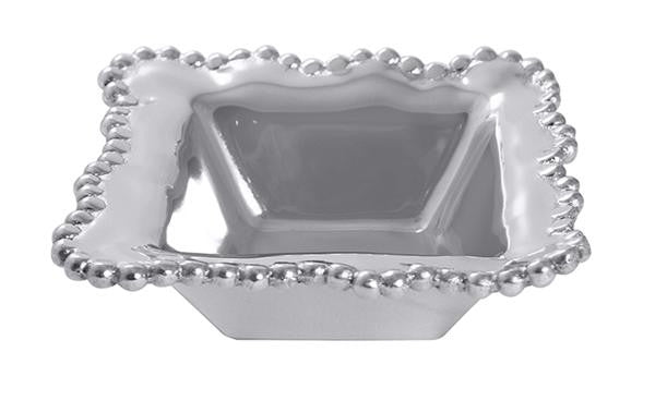 Mariposa Pearled Wavy Condiment Bowl