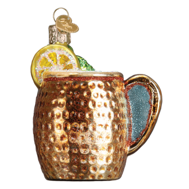 Old World Christmas Moscow Mule Mug