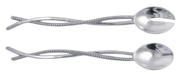Mariposa Sueno Interlaced Salad Servers