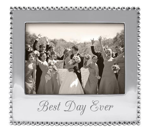Mariposa Best Day Ever Frame