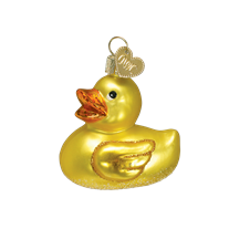 Old World Christmas Rubber Ducky