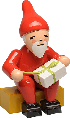 Gnome with Gift