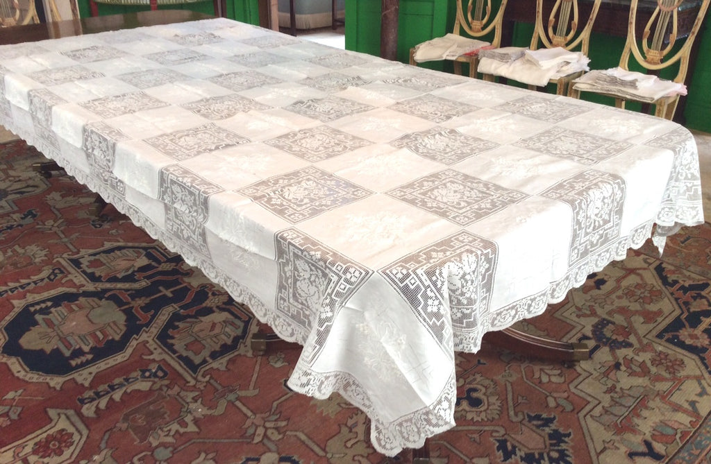 Table Cloth:  Army Navy