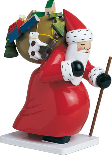 Wendt and Kuhn Large Santa Claus with Toys