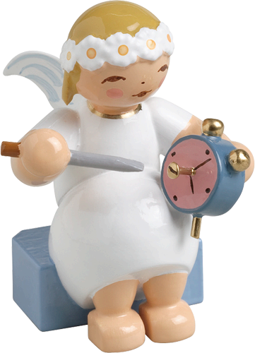 Wendt and Kuhn Marguerite Angel with Alarm Clock