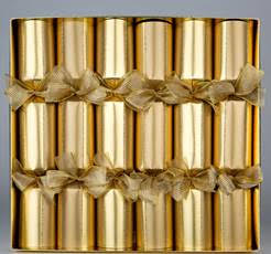 Christmas Crackers:  Gold Symphony