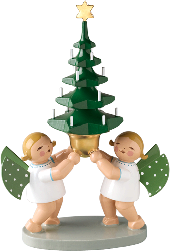 Wendt and Kuhn Group of Angels with Tree