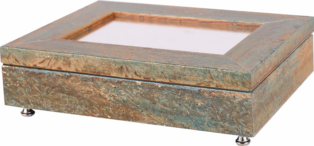 Jewelry Box Teal Stone