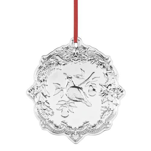 Ornament:  Sterling Silver Partridge in a Pear Tree