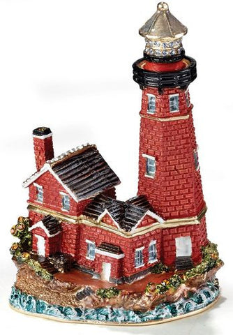 Kubla Craft Red Brick Lighthouse Box