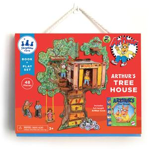 StoryTime Book and Play Set:  Arthur's Tree House