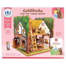 StoryTime Book and Play Set:  Goldilocks and the Three Bears