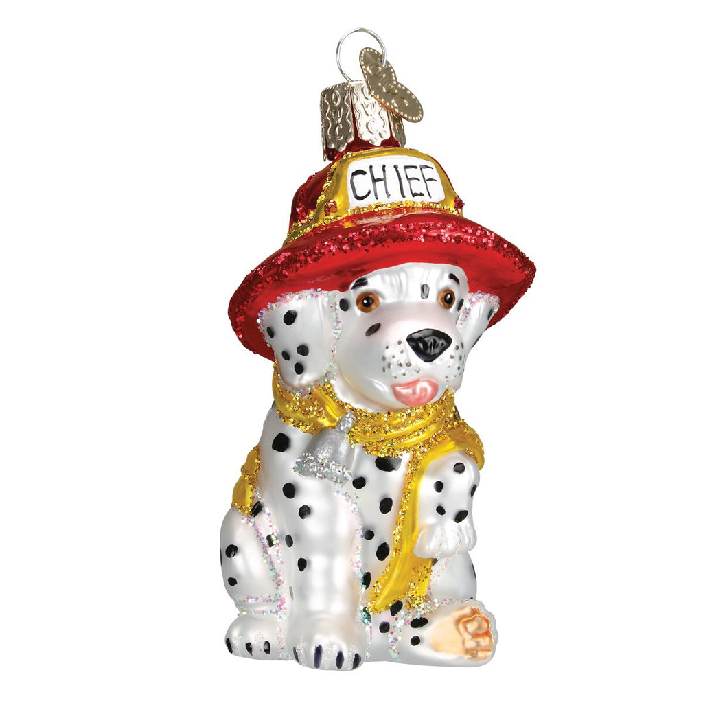 Old World Christmas Dalmatian Pup