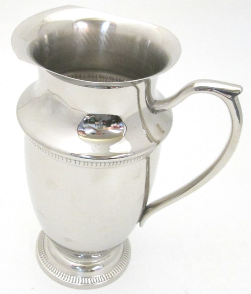 Sadek Nickel Plated Pitcher