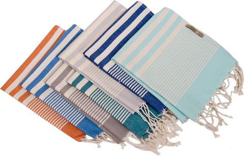 Derin Turkish Tea/Hand Towel sea foam