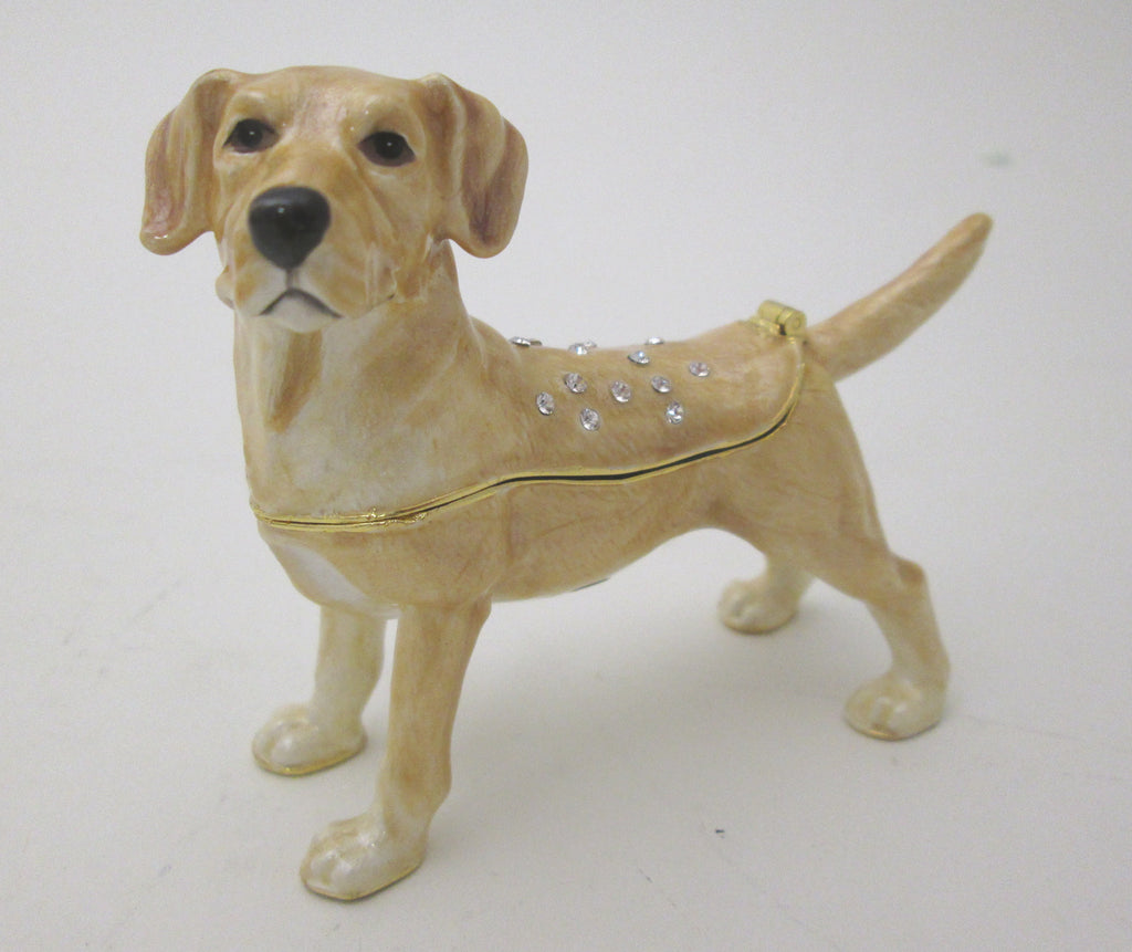 Kubla Crafts Yellow Lab Box