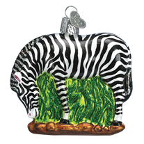 Old World Christmas Zebra