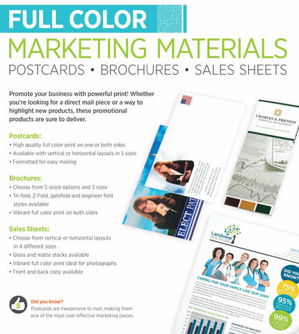 Printing Services for Marketing Materials at PaperandPearl.com