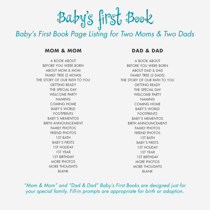 Baby's First Book Blue Bow