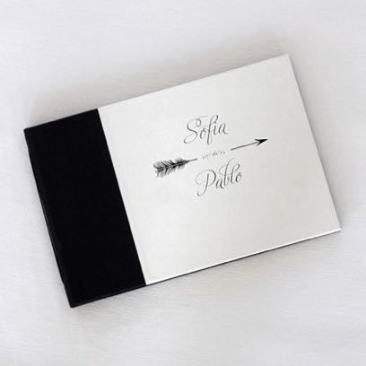 Personalized Guestbook Arrow