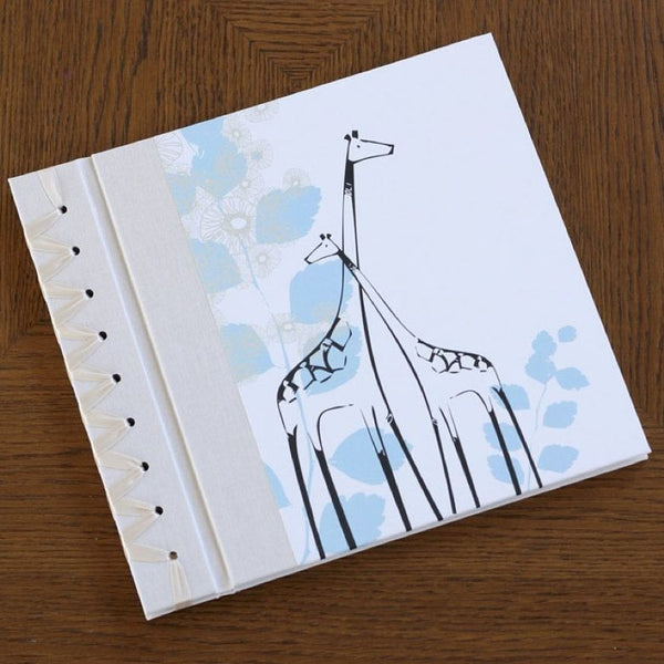 Baby's First Book Blue Giraffe