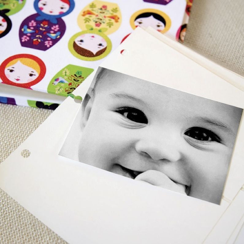 Photo Binder Natural Linen