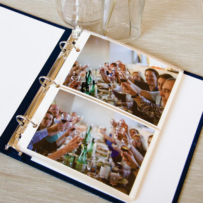 Photo Binder Champagne