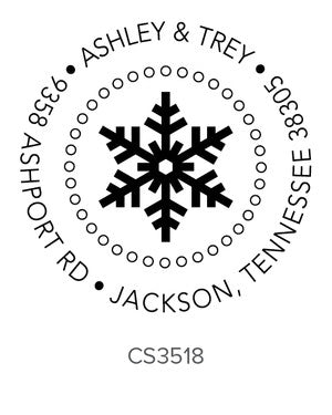 Custom Holiday Stamp CS3518