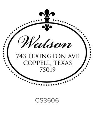 Custom Address Stamp CS3606