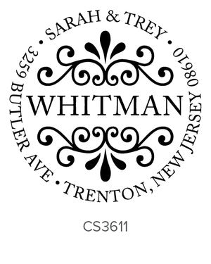 Custom Address Stamp CS3611